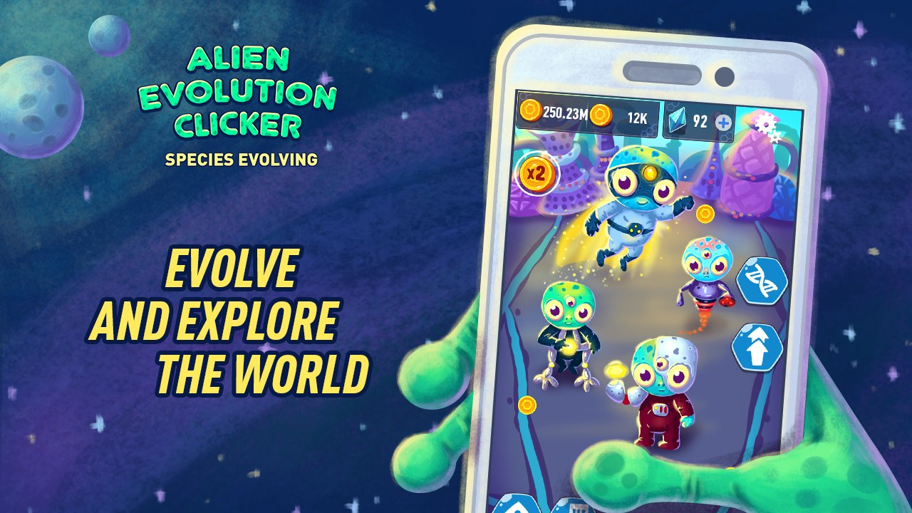 Alien Evolution Clicker Species Evolving APK Mod