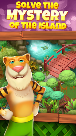 Animal Cove Solve Puzzles & Customize Your Island APK Mod