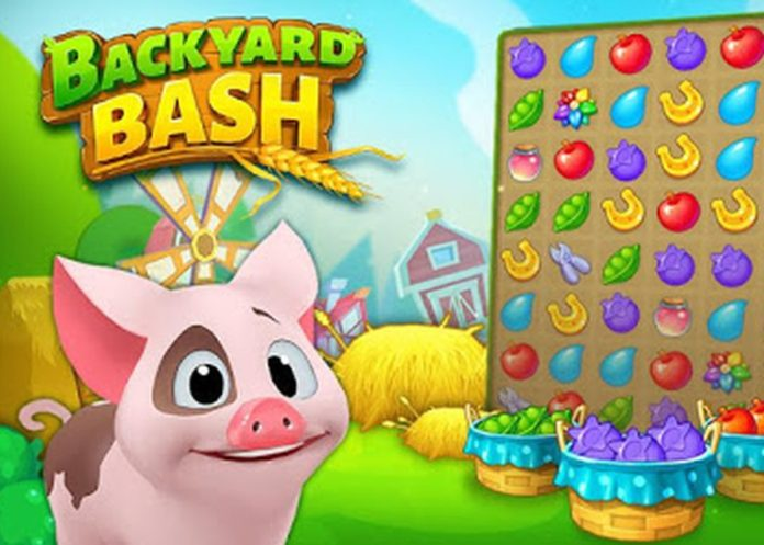 Backyard Bash New Match 3 Pet Game APK Mod