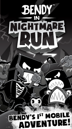 Bendy in Nightmare Run APK Mod