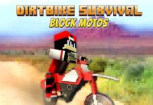 Dirtbike Survival Block Motos APK Mod