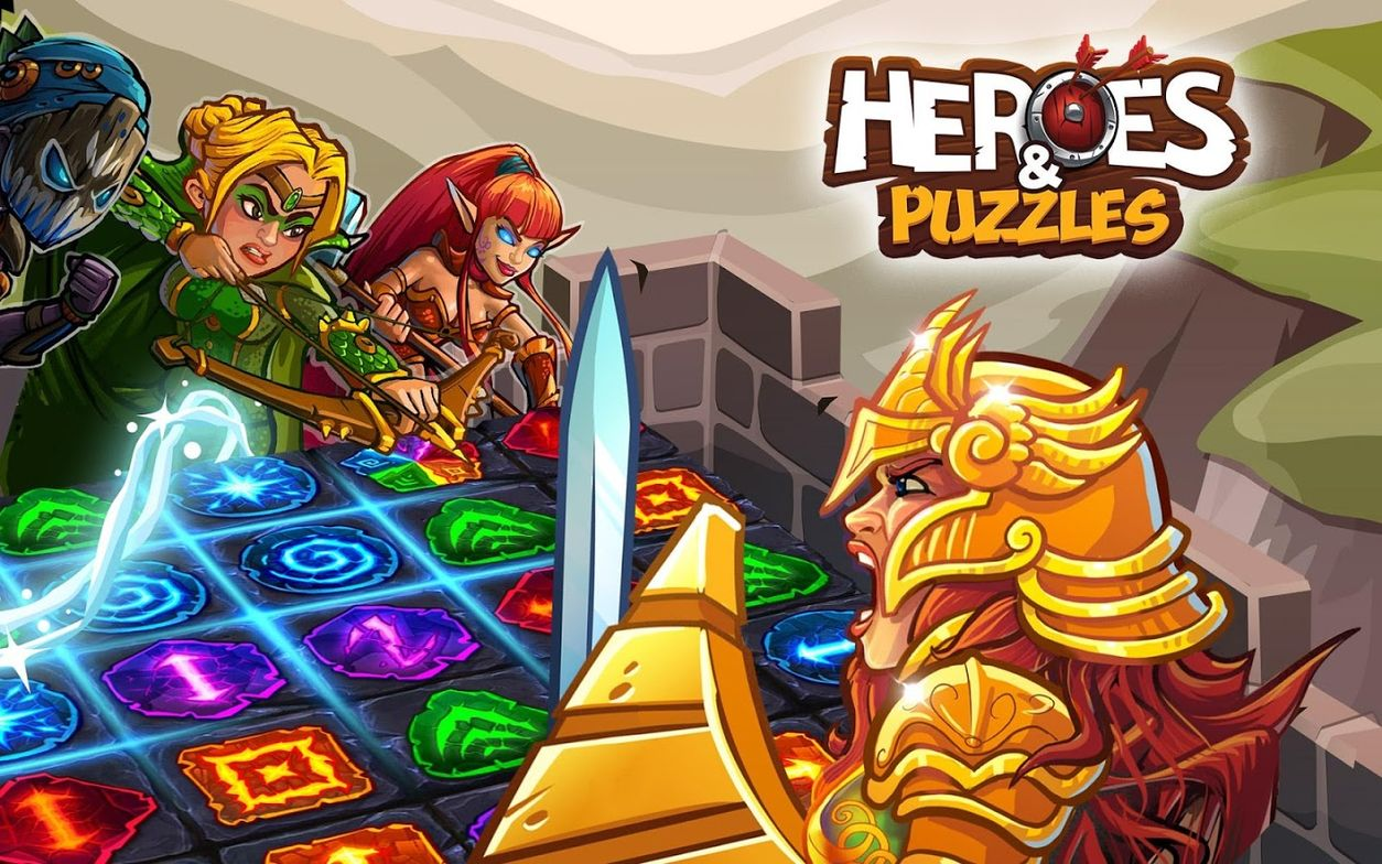 Heroes and Puzzles APK Mod
