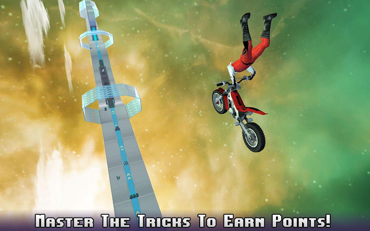 Hill Bike Galaxy Trail World 3 APK Mod