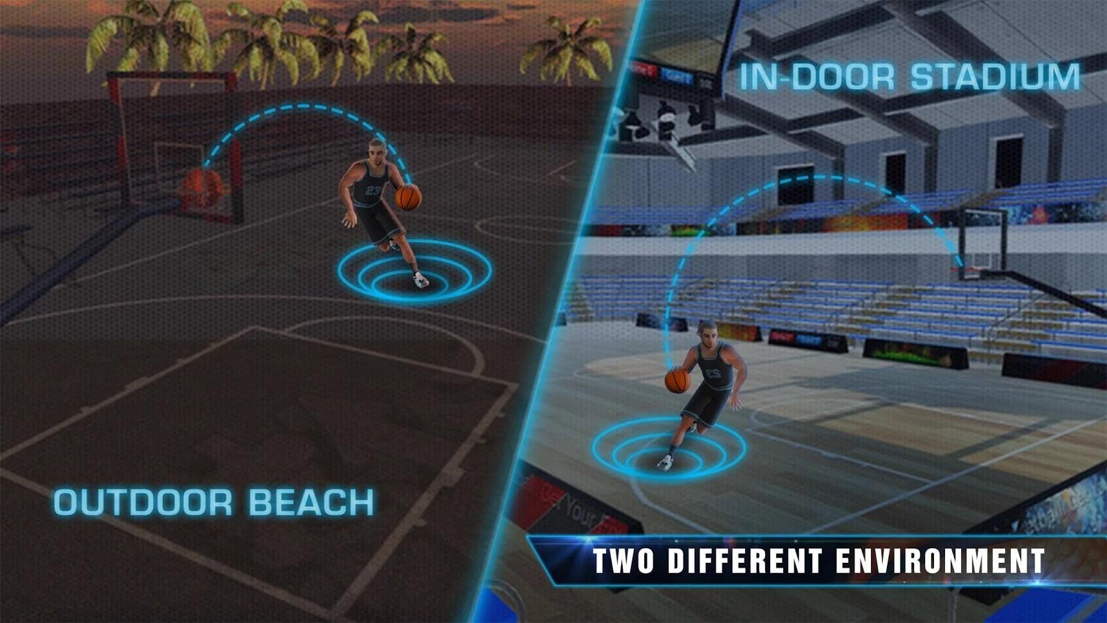 Slam Dunk Real Basketball - 3D Game APK Mod