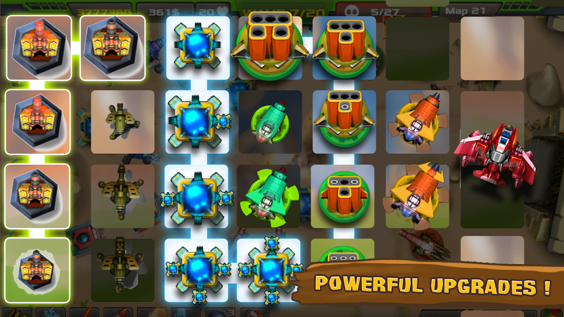 Tower Defense Alien War TD APK Mod