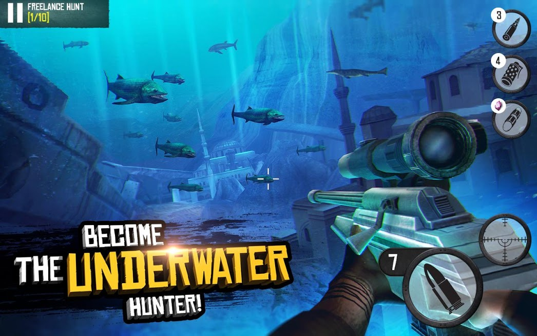 Best Sniper Shooting Hunter 3D APK Mod