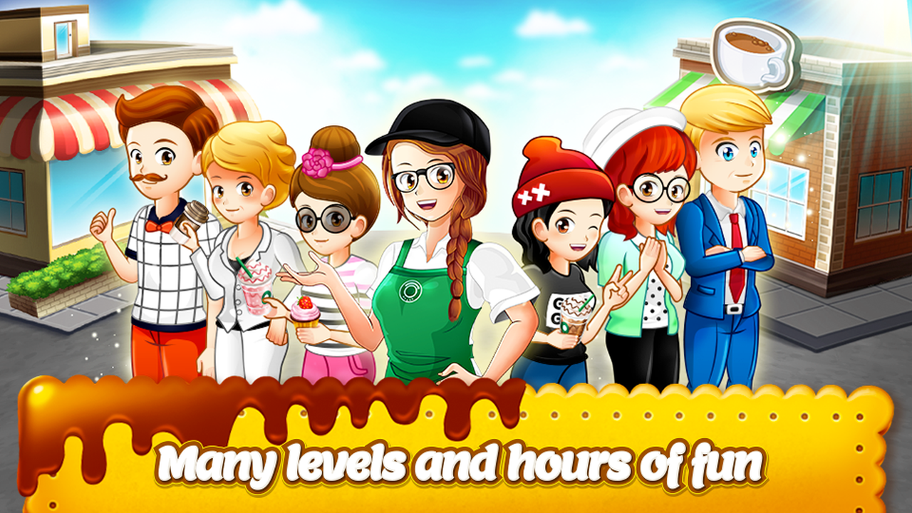 Cafe Panic Cooking Restaurant APK Mod
