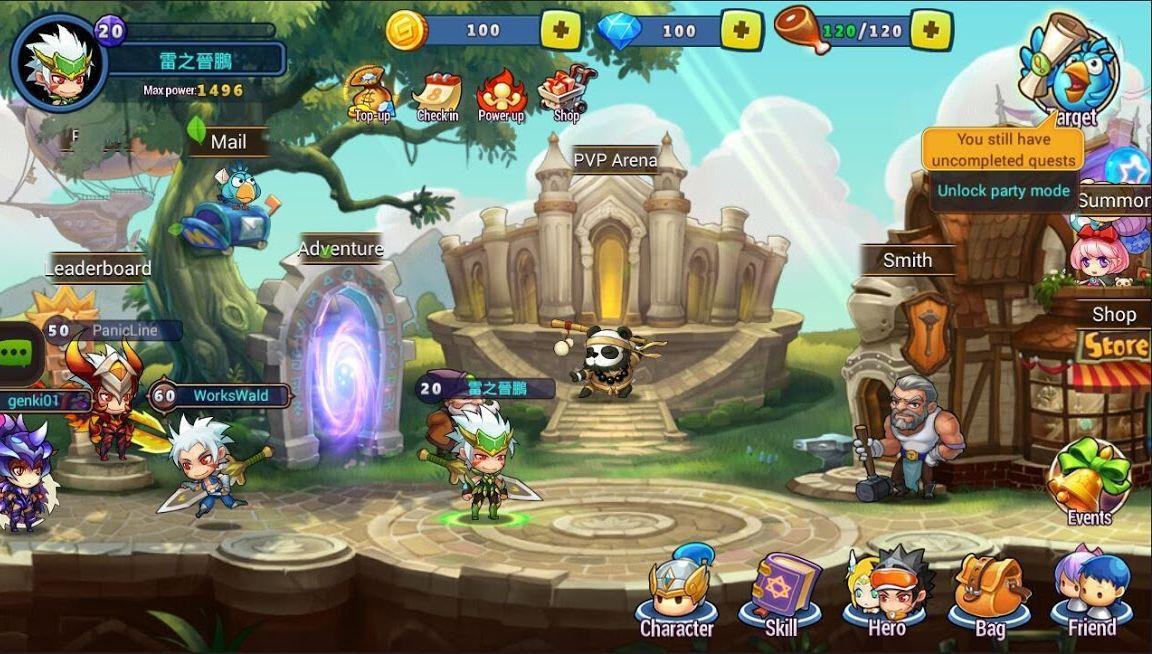 Genki Heroes APK Mod