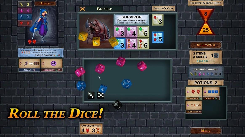 One Deck Dungeon APK Mod
