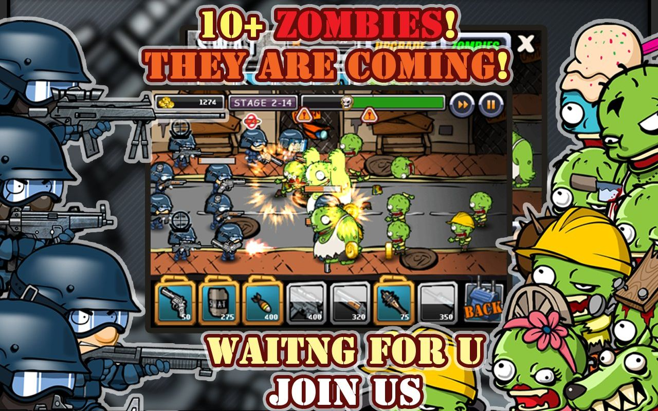 SWAT and Zombies APK Mod
