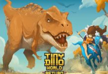 Tiny Dino World Return APK Mod