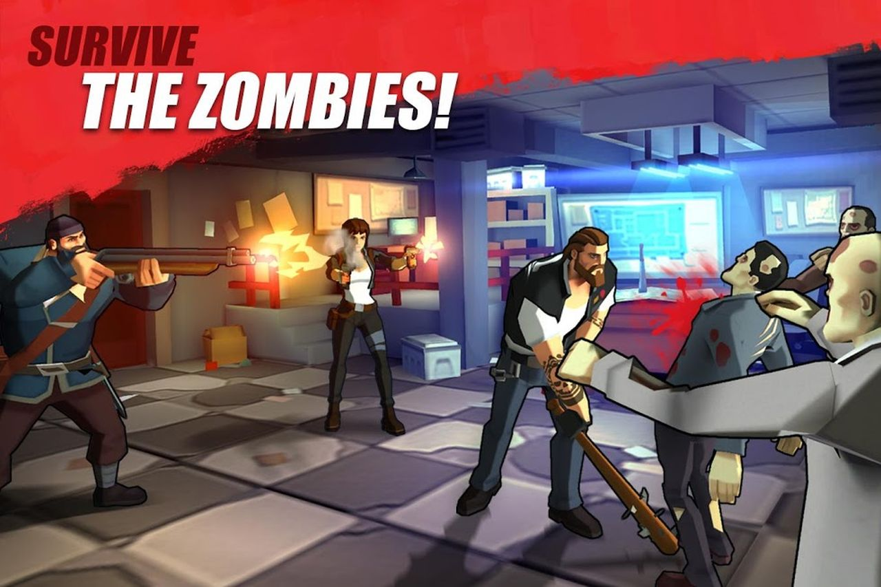 Zombie Faction - Battle Games for a New World APK Mod